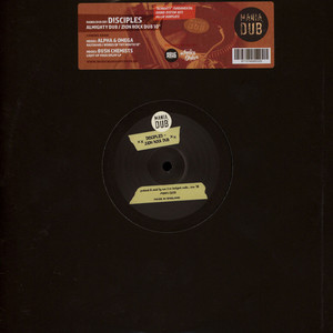 DISCIPLES, THE - Almighty Dub / Zion Rock Dub - 10 inch