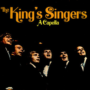 THE KING'S SINGERS - A Capella - LP