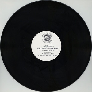 HALCYONIC & G ROOTS - Holy Dub  Feat. Tenor Steppa - 12 inch x 1