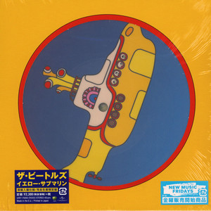 BEATLES, THE - Yellow Submarine Picture Disc Edition - 7inch x 1