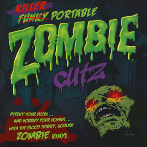 CRAB CAKE AND TURNTABLE TRAINING WAX PRESENT - Killer Portable Zombie Cutz! - 7inch x 1
