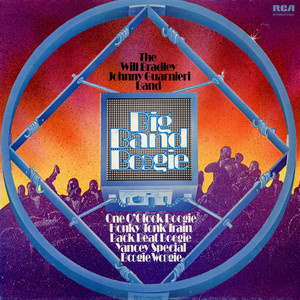 WILL BRADLEY-JOHNNY GUARNIERI BAND, THE - Live Echoes Of The Best In Big Band Boogie - LP