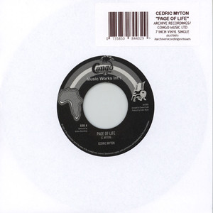 CEDRIC MYTON - Page Of Life / Version - 45T x 1