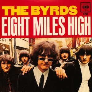 BYRDS, THE - Eight Miles High / Why Blue Vinyl Ediiton - 45T x 1