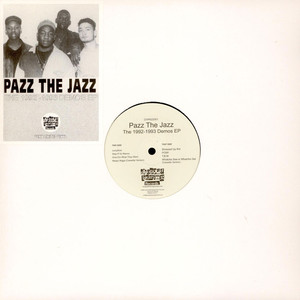 PAZZ THE JAZZ - The 1992-1993 Demos EP - Maxi x 1