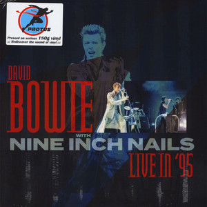 DAVID BOWIE WITH NINE INCH NAILS - Live In '95 - LP