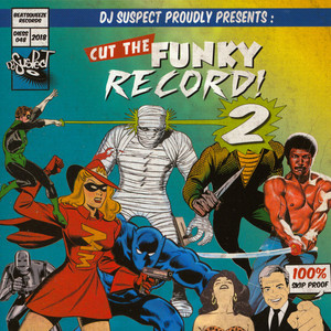 DJ SUSPECT - Cut The Funky Record 2 - 45T x 1