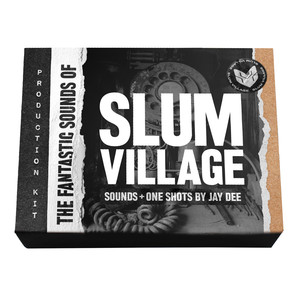 JAY DEE AKA J DILLA / SLUM VILLAGE - The Fantastic Sounds Of Slum Village Producer Kit - 300 gr