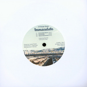OL' BURGER BEATS - Immaculate Remix - 7inch x 1