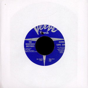 RIGHTEOUS BROTHERS, THE - Along Came Jones - 7inch x 1