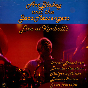 ART BLAKEY & THE JAZZ MESSENGERS - Live At Kimball's - 33T