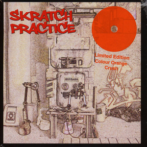 DJ T-KUT - Skratch Practice Orange Vinyl Edition - 7inch x 1