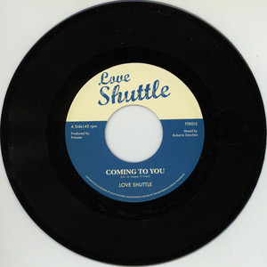 LOVE SHUTTLE - Coming To You / Gee Sugar - Lovers Boulevard - 7'' 1枚