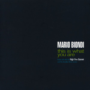MARIO BIONDI - This Is What You Are Radio Edit / Brazilian Rime - 45T x 1