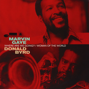 MARVIN GAYE & DONALD BYRD - Where Are We Going - Maxi x 1