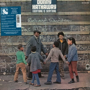 DONNY HATHAWAY - Everything Is Everything - LP