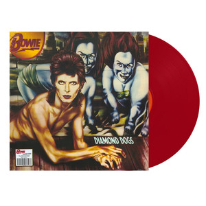 david bowie diamond dogs remaster 2016 red vinyl edition