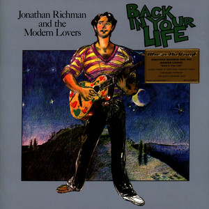 JONATHAN RICHMAN & THE MODERN LOVERS - Back In Your Life Colored Vinyl Version - LP