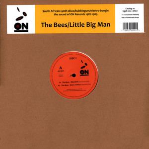 BEES, THE / LITTLE BIG MAN - On -The Sound Of On Records 1987-1989 - Maxi x 1