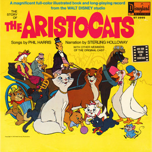 JIMMY JOHNSON - The Story Of The Aristocats - 33T