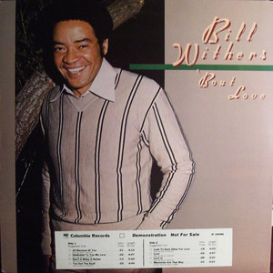BILL WITHERS - 'Bout Love - LP