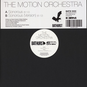 MOTION ORCHESTRA, THE - Sonorous - 12 inch x 1