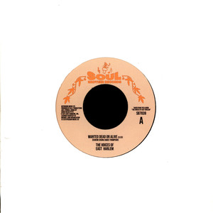 VOICES OF EAST HARLEM, THE - Wanted Dead Or Alive / Can You Feel It - 45T x 1