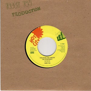 YABBY YOU / KING TUBBY & THE PROPHETS - Deliver Me From My Enemies (Dub Plate Mix) / Version (Dub Plate Mix) - 45T x 1