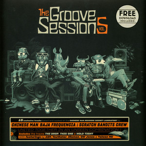 CHINESE MAN - The Groove Sessions Volume 5 - 33T x 2