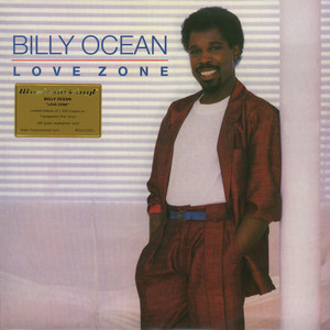 BILLY OCEAN - Love Zone Limited Numbered Pink Vinyl Edition - LP