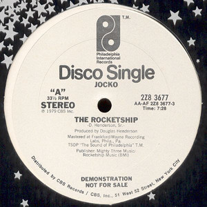 JOCKO - The Rocketship - 12 inch x 1