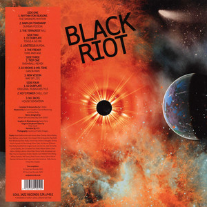 SOUL JAZZ RECORDS PRESENTS - Black Riot: Early Jungle, Rave And Hardcore - 33T x 2