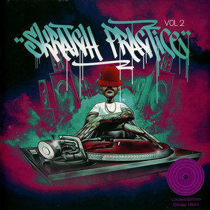 DJ T-KUT - Skratch Practice Volume 2 Neon Edition - LP