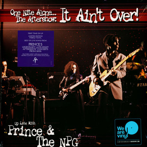 PRINCE & NEW POWER GENERATION - One Nite Alone: The Aftershow It Ain't Over - LP x 2