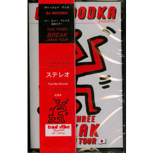 DJ GOODKA - Two Three Break Japan Tour - Cassette