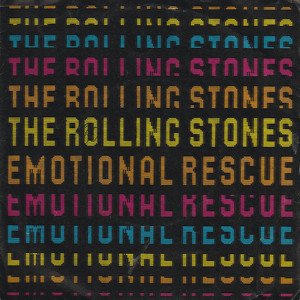 THE ROLLING STONES - Emotional Rescue - 7inch x 1