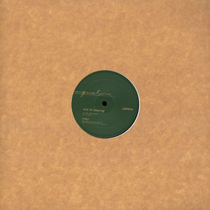 CALIBRE - Falls To You Vip / End Of Meaning - Maxi x 1