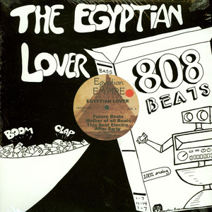 EGYPTIAN LOVER - 808 Beats Volume 1 EP - 33T