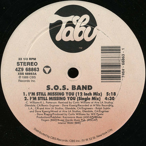S.O.S. BAND, THE - I'm Still Missing Your Love - Maxi x 1
