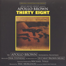 Apollo Brown - Thirty Eight Black Vinyl Edition