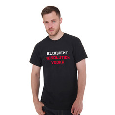 Eloquent - Absolution Vodka Typo T-Shirt