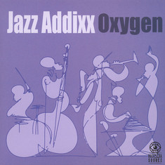 Jazz Addixx - Oxygen Blue & White Splattered Vinyl Edition