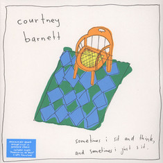 Courtney Barnett - Sometimes I Sit And Think,And Sometimes. Orange Vinyl Edition