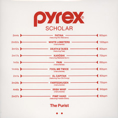 Purist, The - Pyrex Scholar Clear Vinyl Edition