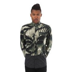 Staple - Feather Camo Woven Shirt