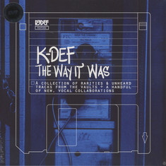 K-Def - The Way It Was Blue Vinyl Edition