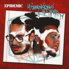 Epidemic - 4 Dimensions On A Paper Red & White Vinyl Edition