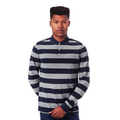 Fred Perry - Striped Pique Longsleeve