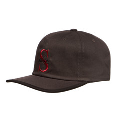 Stüssy - S Times Logo Unstructured Strapback Cap
