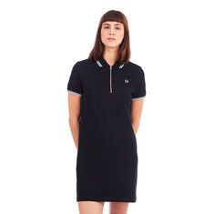 Fred Perry - Zip Neck Pique Dress
